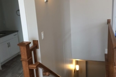 A couple nice wall sconces that we installed in Musquodoboit. They made the stairway a lot brighter and safer.