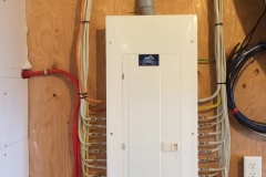 A new 200 amp panel installed near Enfield.